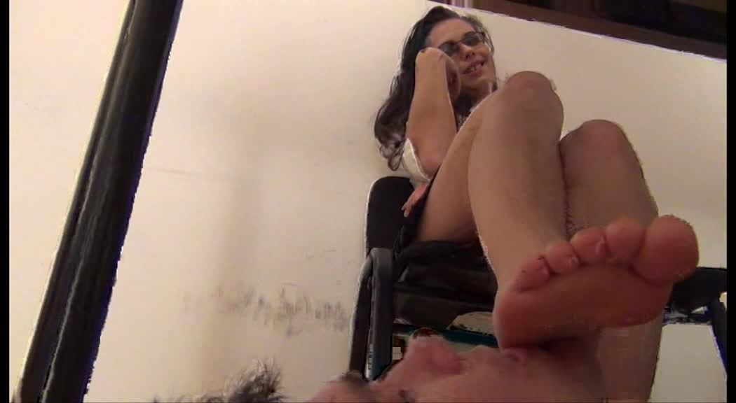 'My Boss, My Mistress' – Barefoot Domination and Footstool